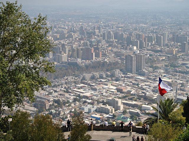 PArque Metropolitano en Santiago de Chile