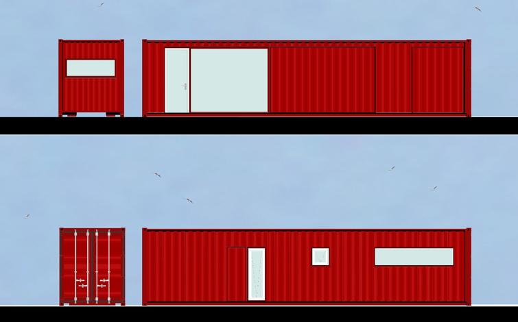 Planos del Container