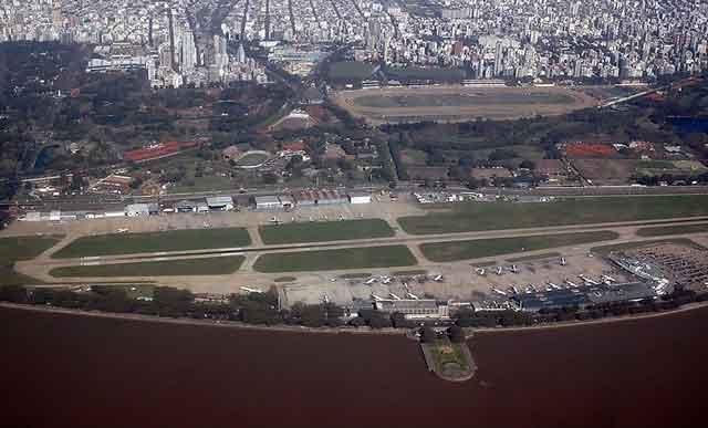 Aeroparque Jorge Newberry Buenos Aires