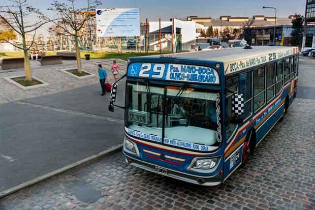 Los Autobuses (Colectivos) de Buenos Aires