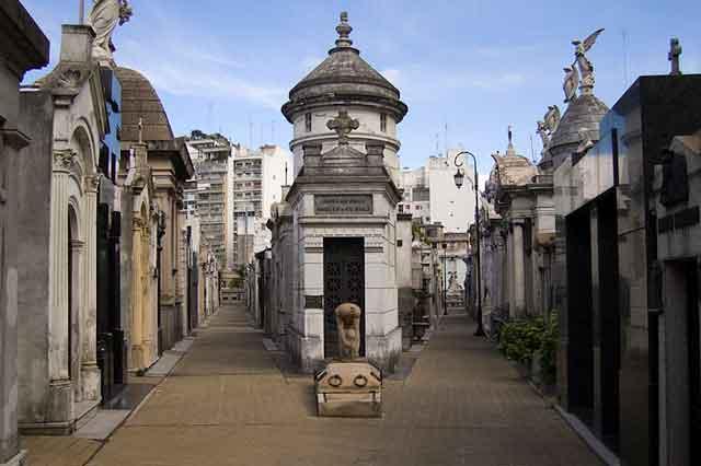 El Cementerio de la Recoleta