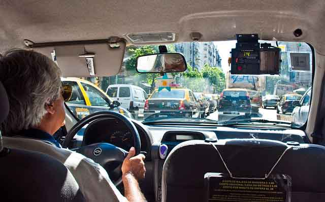 Los taxis de Buenos Aires