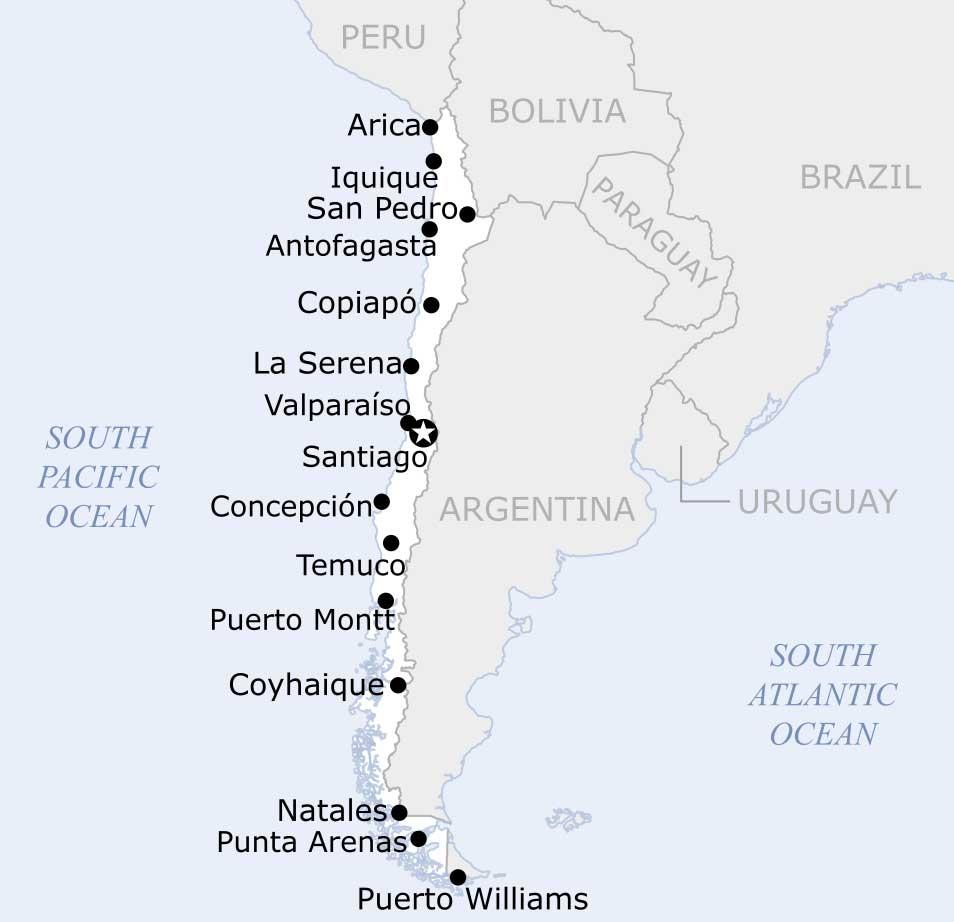 FRonteras entre Argentina y Chile