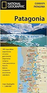 mapas turisticos patagonia