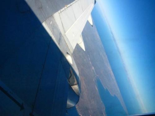 Peninsula desde el Avion