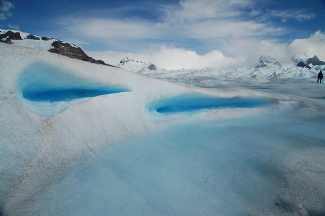 Excursión en el Glaciar.