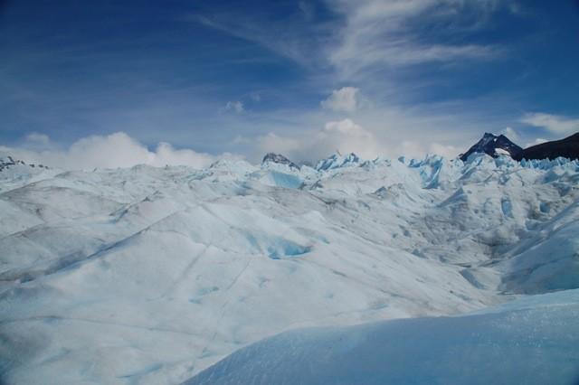 Vista del Glaciar.