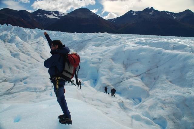 Caminata por el Glaciar
