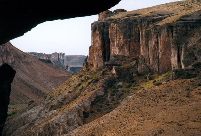 Desde adentro de la cueva