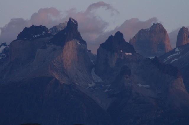 Vista de las Torres del Paine
