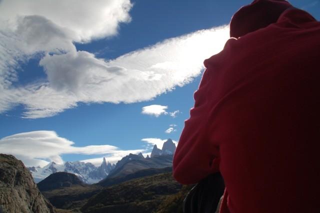 Vista del Monte Fitz Roy