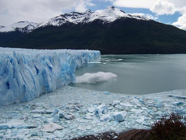 Vista del Glaciar