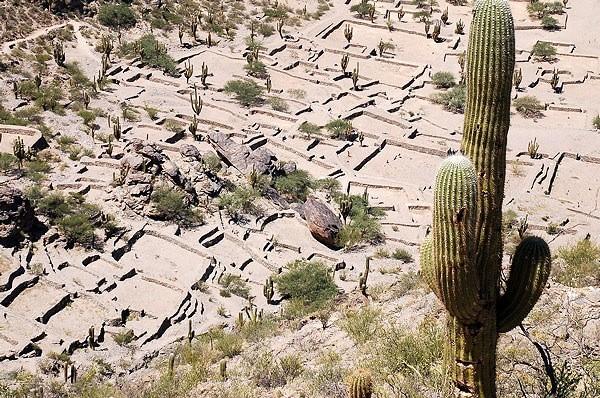 Vista panoramica de las Ruinas