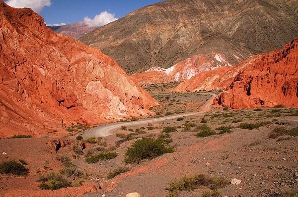 Camino a la Quebrada de Humahuaca