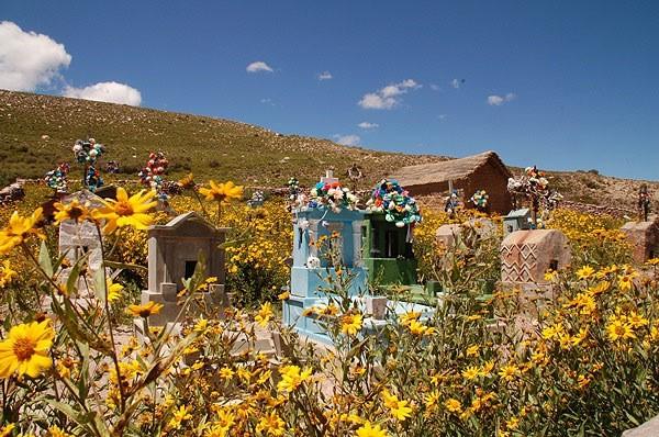 Cementerio en Salta