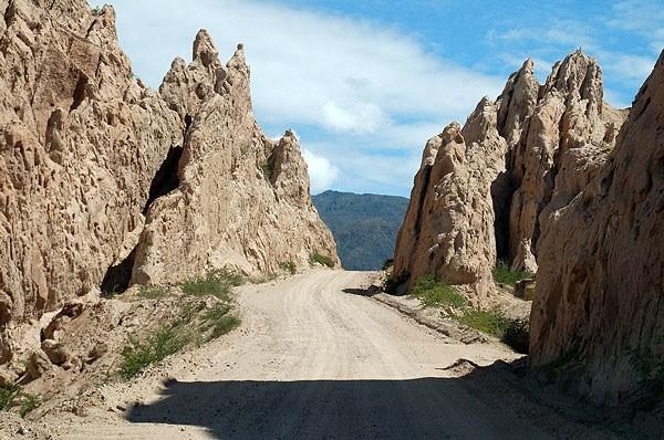 La ruta 40 camino a Cafayate