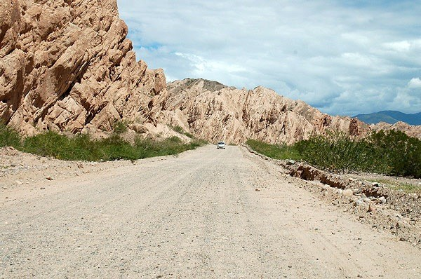 Ruta 40 en la Quebrada de las flechas