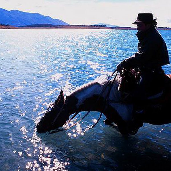 Gaucho at Lake Argentino