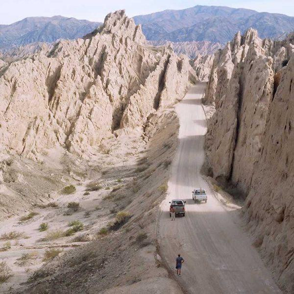 Quebrada de las Flechas Norte de Argentina