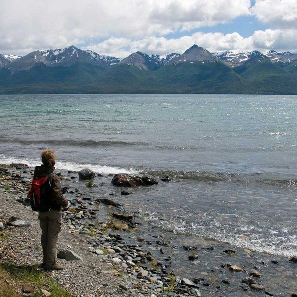 Lake Fagnano in Ushuaia