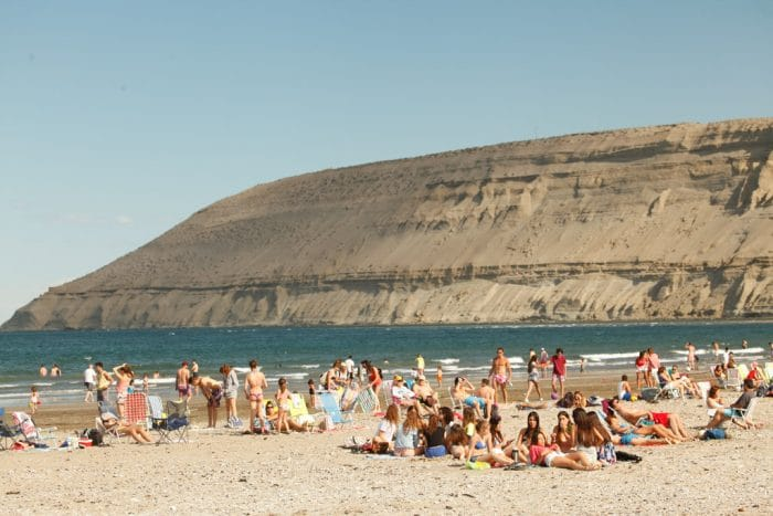 Rada Tilly Beach