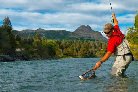 Pesca en San Martín de los Andes
