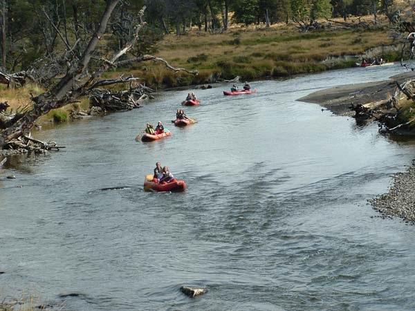 Canoas en el PN Tierra del Fuego