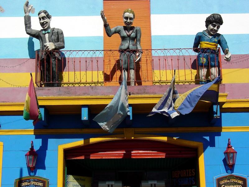 Colores y costumbres en la Boca