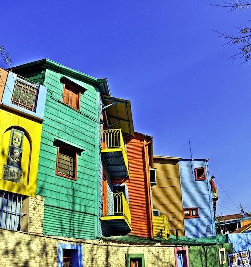 Barrio la Boca Buenos Aires