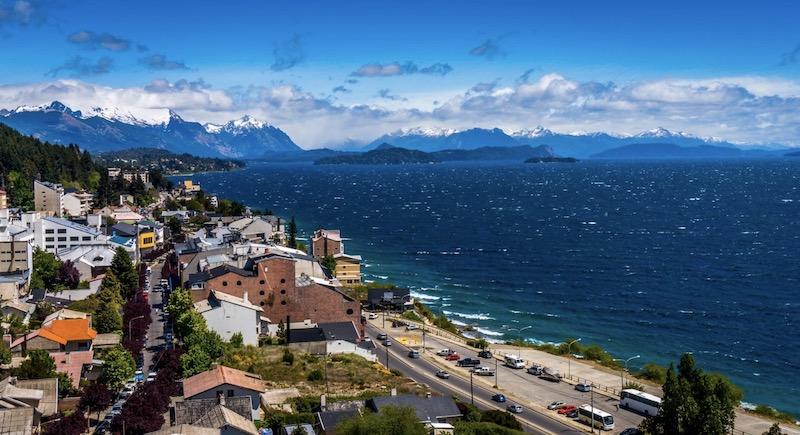 Ciudad de Bariloche Patagonia Argentina