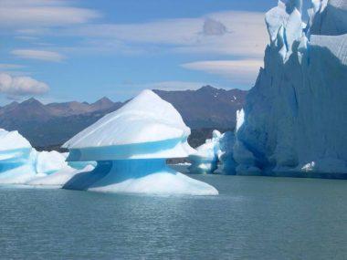 Iceberg en el Glaciar Upsala
