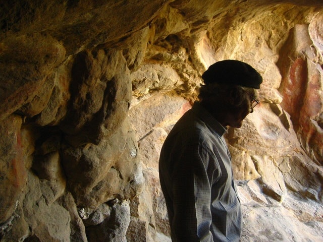 Gaucho in the Cave of the Hands