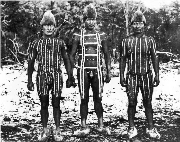 Indios en Ushuaia