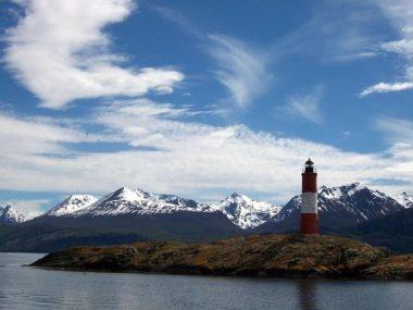 Faro del fin del Mundo en Ushuaia