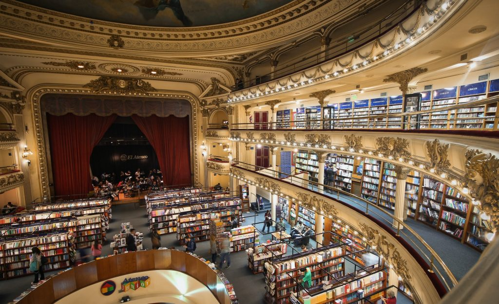 Buenos Aires bookstore